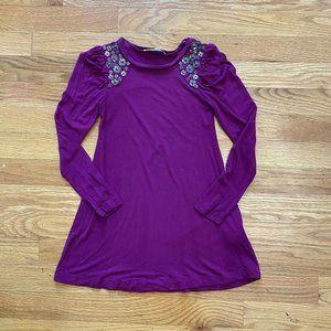 Junior Gaultier dress Embellished Purple Long Slee